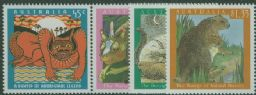 AUS SG1466a-9 The Bunyip (mythological monster) set of 4 with horizontal pair